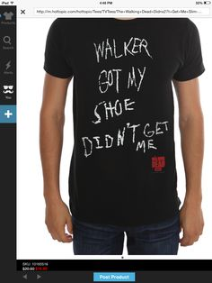 $16.40 - Hot Topic Walking Dead Shirt