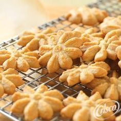 Peanut Butter Spritz Cookies from Crisco®