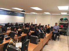 Los alumnos del curso de diplomados en formación profesional en Software de Información Geográfica ORTOSKY/IPSILUM, del El Tecnológico Nacional de México y el Instituto Tecnológico de Gustavo A. Madero,  en plena clase disfrutando y aprendiendo con nuestra tecnología. ¡Ánimo a todos!