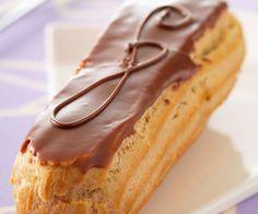 #Eclair au #chocolat avec un glaçage à tomber !