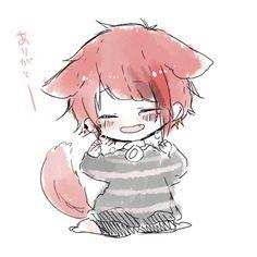 Anime Chibi, Manga Anime, Anime Art, Neko, Wolf People, Kawaii, Bendy And The Ink Machine, Cute Chibi, Vocaloid