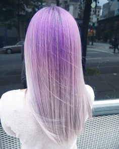 60 Best Ombre Hair Color Ideas for Blond, Brown, Red and Black Hair Dyed Hair Ombre, Ombre Blond, Best Ombre Hair, Ombre Hair Color, Dye My Hair, Hair Colour, Pastel Purple Hair, Purple Ombre, Purple Streaks