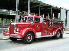 Mack Fire Pumper.