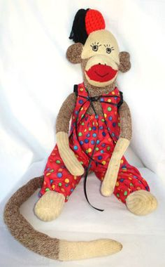 All above Sock puppy toy vintage