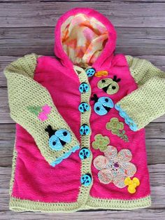 Detské oblečenie - Zmiešaná bundička-jarná lúka - 2158858