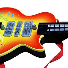 FYI: Kids Electric Guitar Musical Instrument Strap Toddler Educational Music Gift