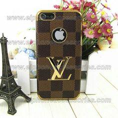 Luxury Louis Vuitton iPhone 5 Case iPhone 5 Cover Damier Brown @Wendy Scheel