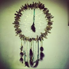 Hand made driftwood dreamcatcher by Driftwood Gypsy