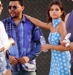 Singer and actress Selena Gomez & singer The Weeknd attend Coachella 2017 in Indio.   http://celebsip.com/selena-gomez-nick-viall-the-weeknd-bob-odenkirk-emily-ratajkowski/
