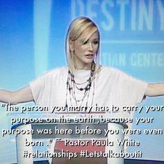 Pastor Paula White teaching on #relationships .