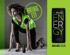Announcing A Revolution in Energy Drinks!!!  Want an energy drink that is actually good for you!?!