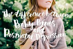 We explore the differences between Baby Blues and Postnatal Depression #PND
