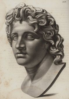 "#AlexanderTheGreat of the #Greek kingdom of #Macedonia - Horner, Johann Jakob-""Pictures of Greek antiquity or representation of the most famous areas and the most important works of art of ancient Greece"" , Zurich, Orell, Füssli and Co. 1823"