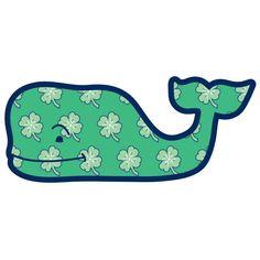 Vineyard Vines St. Patrick's Day Shamrock Whale (2015)