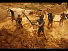 Gold Miners in Africa Heartbreaking Pictures That Remind Us Why The World Needs Unions More Than Ever) Gold Miners, Mining Company, World Need, Accra, New Uses, Brilliant Earth, Documentary Film, Countries Of The World, African Countries