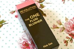 Makeup Revolution The One Fluid Blusher in Pink Sea Review and Giveaway