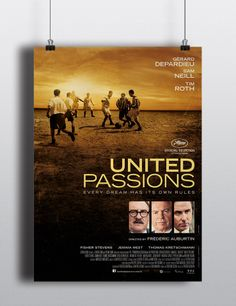 United Passions is a movie about the history of world football's governing body stars Tim Roth and Sam Neill and had its premiere at the film festival de Cannes 2014.  The film, titled United Passions, features Jurassic Park star Sam Neill and Gerard Depardieu, Thomas Kretschmann, with Pulp Fiction's Tim Roth playing the role of the oft-criticised current president of the organisation Sepp Blatter. Director: Frédéric Auburtin www.thomaskretschmann.com