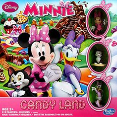 Jogo Candyland Minnie Mouse - Hasbro