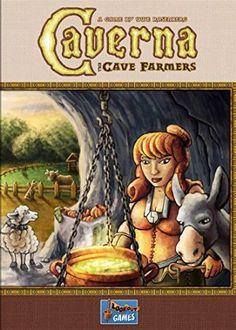 Mayfair Games MFG3501 - Brettspiel Caverna - Cave Farmers, Englisch
