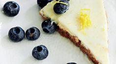 Opskrift på cheesecake med citron   Ostekage
