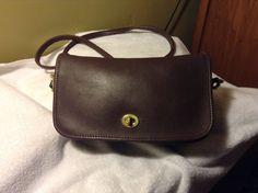 "Vintage Coach Shoulder Cross Body ""Penny""Brown Purse Handbag #Coach #MessengerCrossBody"