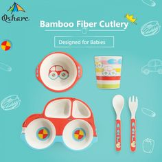Baby Dishes, Played Yourself, Mindful, Biodegradable Products, Cart, Bamboo, Fiber, Environment, Lifestyle