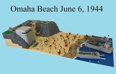 Largest amphibious invasion in history recreated in LEGO