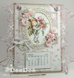 DeeDee´s Card Art: ♥ Marvelous Magnolia Birthday Bash DT ♥