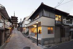 otsuka gofukuten kimono store design by yusuke seki