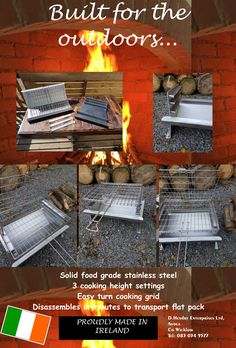 Braaibeque home of the best quality Stainless Steel BBQs . Showing you that you can cook anything that can be cooked in an oven, on our BBQ Stainless Steel Fire Pit, Bbq Equipment, Sticky Toffee Pudding, Outdoor Kitchens, Food Grade, Turning, Grid, Grilling, Good Things
