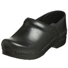 Dansko Professional Cabrio Pro Leather Black Clogs EU 38 US 8 for sale online Leather Clogs, Leather Slip Ons, Black Leather, Clogs Shoes, Mules Shoes, Dansko Shoes, Professional Shoes, Thing 1, Partner