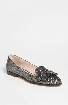 miu miu moccasin... glitter & tassels? it's love