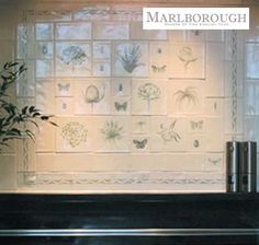 Marlborough Hand-painted tiles.