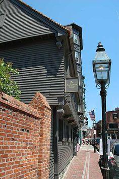 Paul Revere House, Boston, Massachusetts Oldest house in Boston