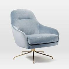 West Elm offers modern furniture and home decor featuring inspiring designs and colors. Create a stylish space with home accessories from West Elm. Oversized Furniture, Small Furniture, Ikea Furniture, Modern Furniture, Glider Chair, Swivel Chair, Recliner Chairs, West Elm, Mid Century Modern Armchair