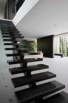 L'escalier simple