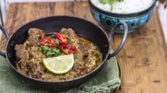 With a decent bit of beef and plenty of time in the slow-cooker you cannot fail to make this incredible dish... spicy, aromatic and fresh despite its long cooking time.