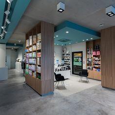 Reception Counter Design, Pharmacy Store, Retail Shelving, Healthcare Design, Shelf Design, Retail Design, Store Design, Showroom, Architecture Design