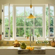 mediterranean windows by Southland Windows, Inc. - Ideal Kitchen Sink Windows