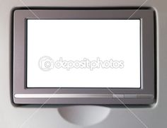 depositphotos - White LCD screen in an airplane — Stock Image #22999332