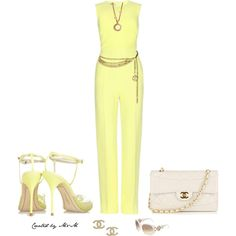 ~SUNNY DAY IN CHANEL~, created by marion-fashionista-diva-miller on Polyvore