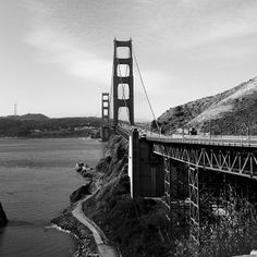 The Golden Gate Bridge -- just as stunning in black and white. Photo courtesy of karsaphoto on Instagram.