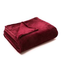 Flannel Fleece Luxury Blanket Purple Queen Size Lightweight Cozy Plush Microfiber Solid Blanket by Bedsure *** Check out this great product. (This is an affiliate link) Fluffy Blankets, Winter Blankets, Warm Blankets, Flannel Blanket, Blue Blanket, Purple Flannel, Plaid, Sofa Throw, Fleece Throw