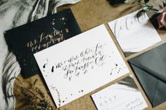 Get gorgeous ideas from this simple, elegant, and entirely pretty wedding inspiration with fine art style by Sydney Marie Photography and Andi Mans. Wedding Stationery, Wedding Invitations, Invites, Wedding Bells, Wedding Flowers, Always A Bridesmaid, Eclectic Wedding, Princess Wedding, Paper Goods