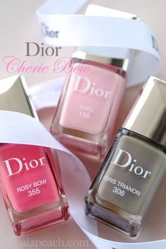 Dior Chérie Bow Collection Vernis Spring 2013