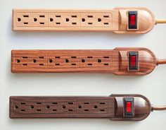 INVISIPLUG #WOOD GRAIN #POWER STRIPS