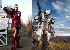 Home made Iron Man suits