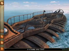 20,000 Leagues Under the Sea: Captain Nemo Macintosh Nautilus surface day