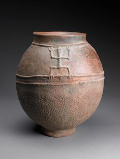 Bamana water container, Mali. Dick Jemison African Ceramic Collection, Birmingham Museum of Art, AL
