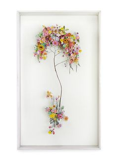 So beautiful. I want this. Flower Art by Anne Ten Donkelaar